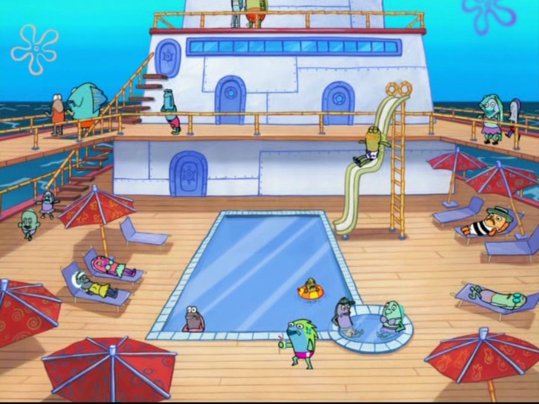 Luxury Ocean Cruise Ship