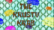 The Krusty Krab Friend Card by Egor