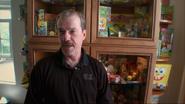 Rodger Bumpass collection of SpongeBob merchandise in Square Roots - The Story of SpongeBob SquarePants