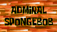Admiral SpongeBob title card by Egor