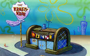 Krusty Krab stock background