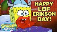 "Happy Leif Erikson Day! 📅 ""Bubble Buddy"" 5 Minute Episode SpongeBob"