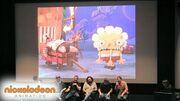 "Nick Talks SpongeBob SquarePants ""The Legend of Boo-kini Bottom"" Panel Nick Animation"