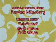 Erik Wiese's name spelled correctly in Help Wanted 1999 version
