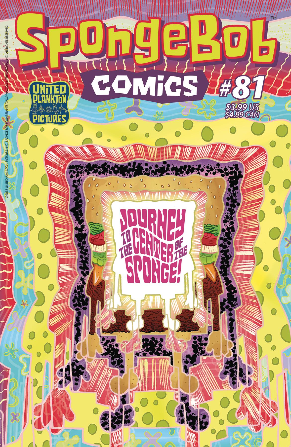 SpongeBob Comics No. 81