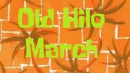 SpongeBob Production Music Old Hilo March