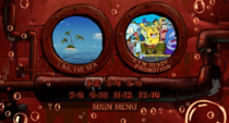 The SpongeBob SquarePants Movie 2005 DVD Menu Walkthrough 1-37 screenshot