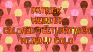 Colored Teeth Friend Card by Egor