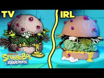 "Making_the_""Nasty_Patty""_IRL_🤢🍔_-_SpongeBob"