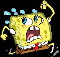 Pngjoy.com spongebob-sponge-bob-running-clipart-transparent-png 711330