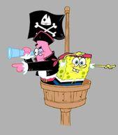 SpongeBob & Patrick Pirates 1