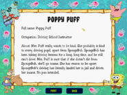 SpongeBob SquarePants Typing - Mrs Puff bio