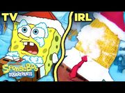 Snowball Fight IRL ❄️ SpongeBob