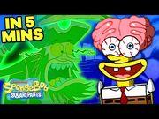 "SpongeBob Loses His Head in 5 Minutes! 🍍👻 ""Scaredy Pants"" 5 Minute Episode - SpongeBob"