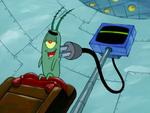 SpongeBob SquarePants Karen the Computer Power Cord