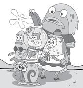 Sandy-Mrs-Puff-Gary-in-crowd