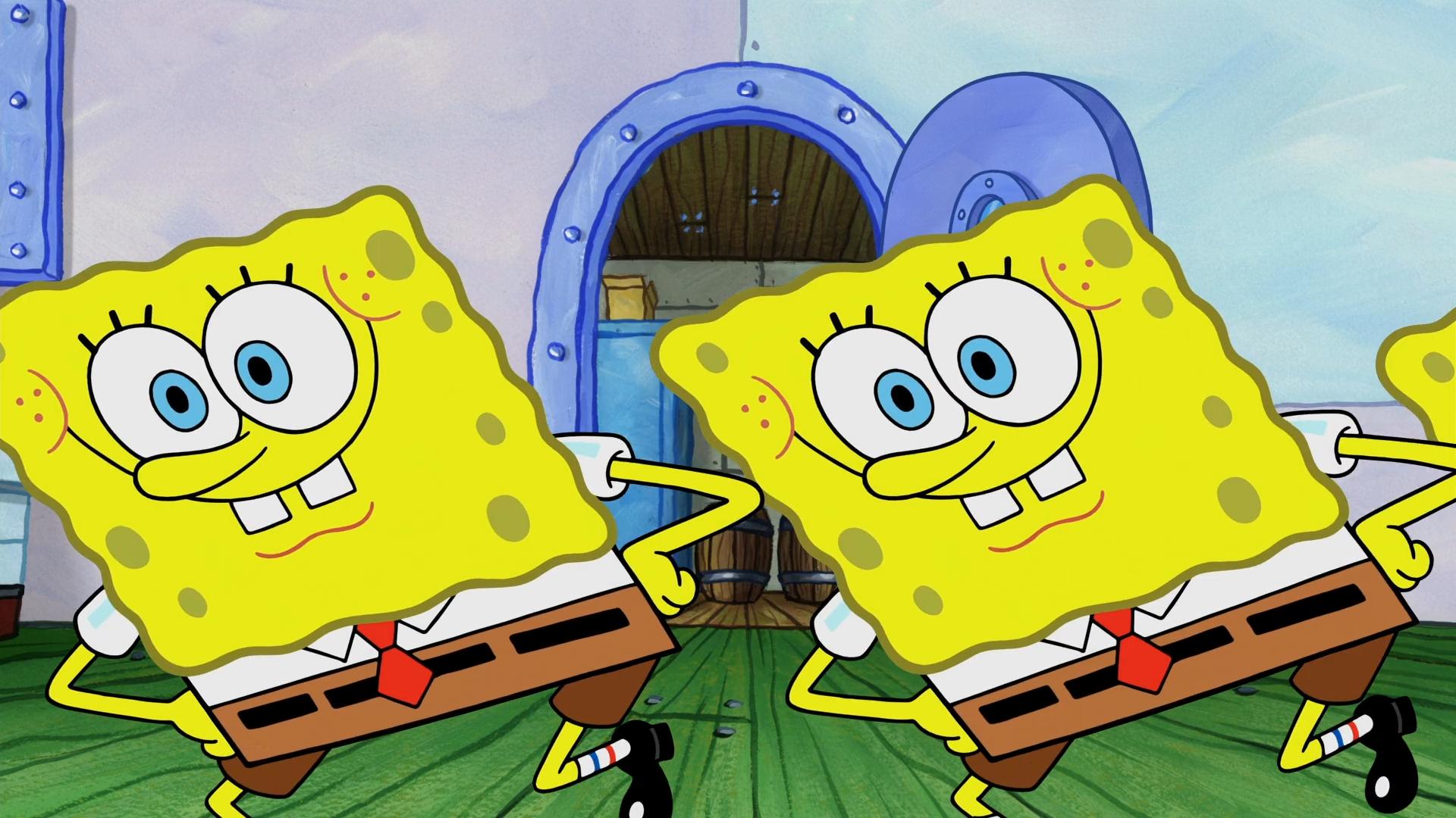 SpongeBob's slices