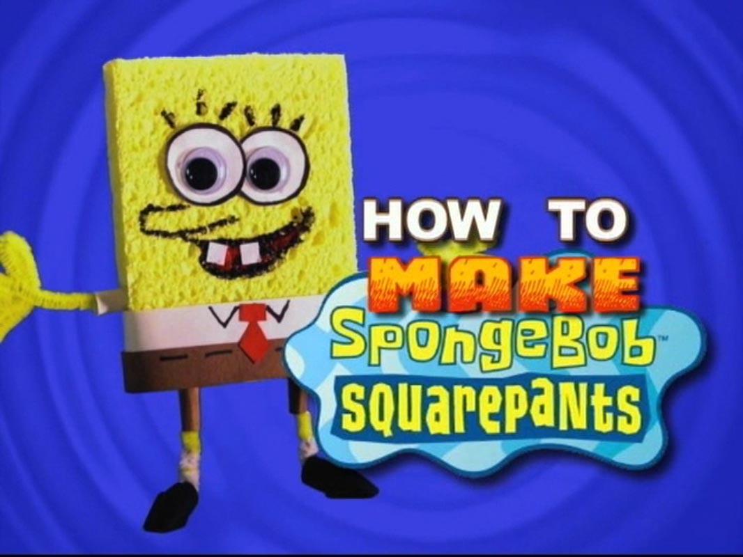 How to Make SpongeBob SquarePants