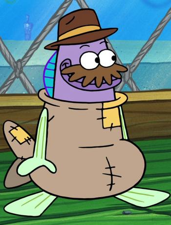 Sea bear costume