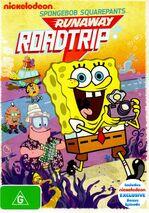 SpongeBob SquarePants Runaway Roadtrip Australian DVD