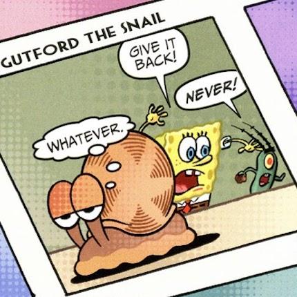 Gutford the Snail