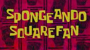 SpongeAndo SqureFan title card by Egor