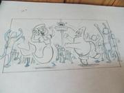 TheSBMovie Animation Drawing 3