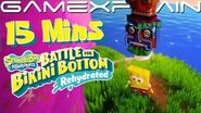 15 Minutes of SpongeBob SquarePants- Battle for Bikini Bottom Rehydrated Gameplay (PAX East)