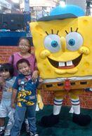 SpongeBob baseball hat costume