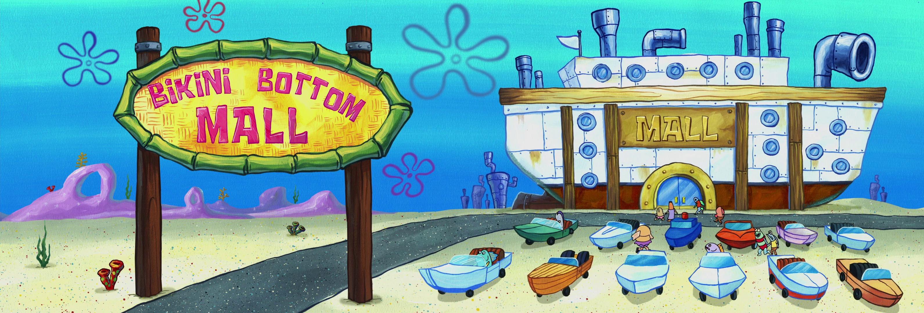 Bikini Bottom Mall