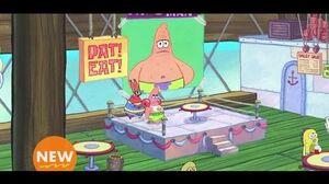 SpongeBob SquarePants ''Warming up'' clip