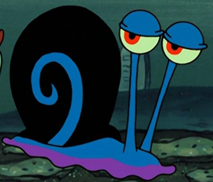 Black snail (One Krabs Trash)