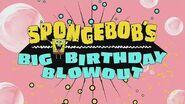 Spongebob Squarepants - Spongebob's Big Birthday Blowout Official Promo