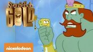 Spongebob Gold La spatola di Re Nettuno Nickelodeon
