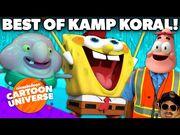 Best of Kamp Koral- SpongeBob's Under Years! 🤓 - Nickelodeon Cartoon Universe