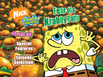 Fear of a Krabby Patty DVD main menu