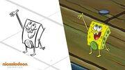 """The Incredible Shrinking Sponge"" Animatic SpongeBob SquarePants Nick Animation"