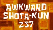 AwkwardShota-kun237 title card by Egor