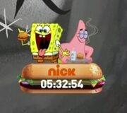 Goodbye, Krabby Patty countdown screenbug