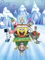 SpongeBob's Frozen Face-Off original cover design