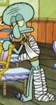 Bandaged Squidward3
