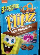 Flipz bag choc