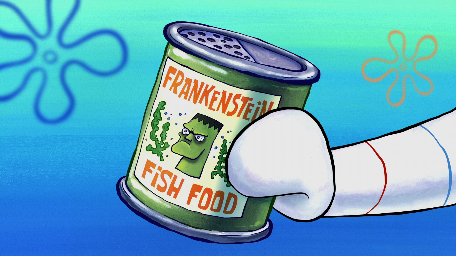Frankenstein Fish Food