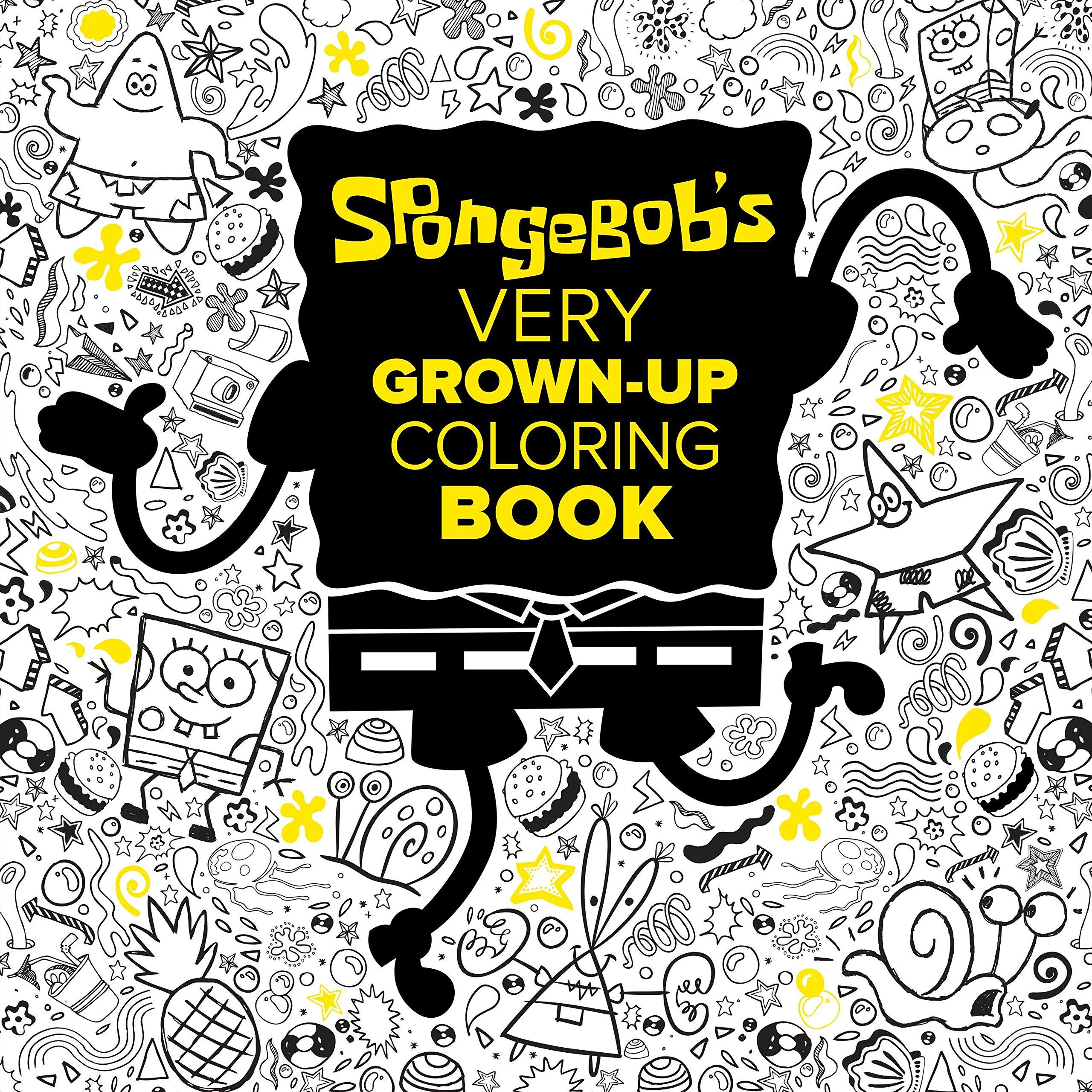 SpongeBob's Very Grown-Up Coloring Book