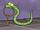 Animatronic guard worm