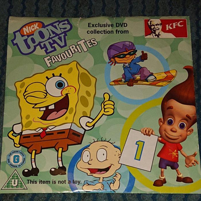 Nicktoons TV Favourites Volume 1