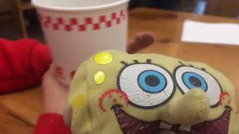 Thefirstblueyoshi2019/spongebob and patrick go to five guys