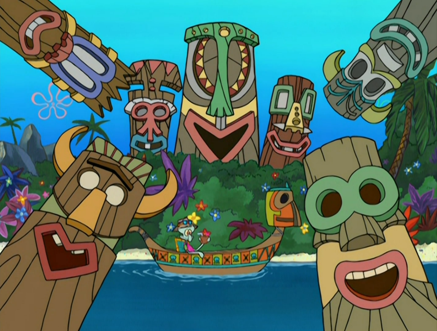 Squidward's Tiki Land