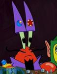 Mr. Krabs as a Wizard