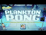Plankton Pong - Plankton takes on Karen in the Ultimate Game of Pong (Nickelodeon Games)
